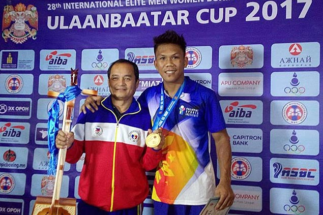 Middleweight Eumir Marcial bags gold medal in Ulaanbaatar Cup