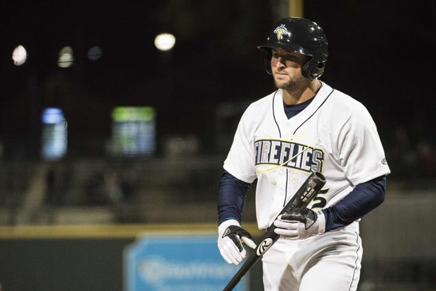 Tim Tebow homers in second game with Mets' Advanced-A affiliate