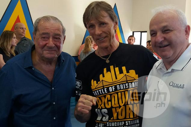 Arum says Pacquiao future will depend largely on how he does against underdog Horn