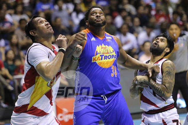 Joshua Smith motivated to lift TNT spirits in Game 4 'regardless of who's guarding me'