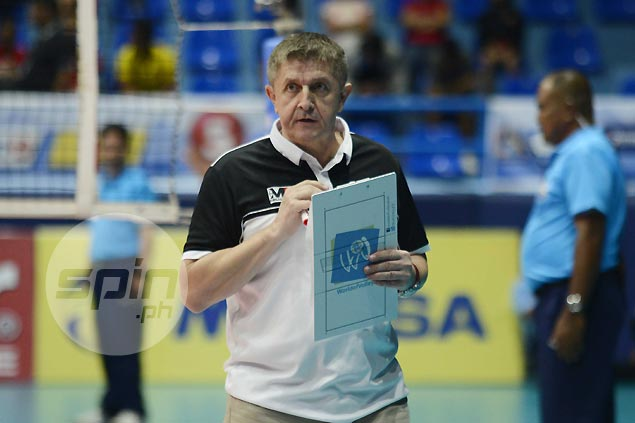Serbian Moro Branislav named training director for SEAG-bound PH volleyball teams