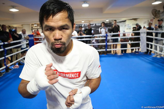 Pacquiao doesn't mind seeing Pinoy boxer Czar Amonsot serve as sparmate for Jeff Horn