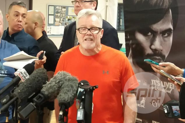 Freddie Roach believes Pacquiao has 'a couple of fights left' unless Pacman struggles vs Horn