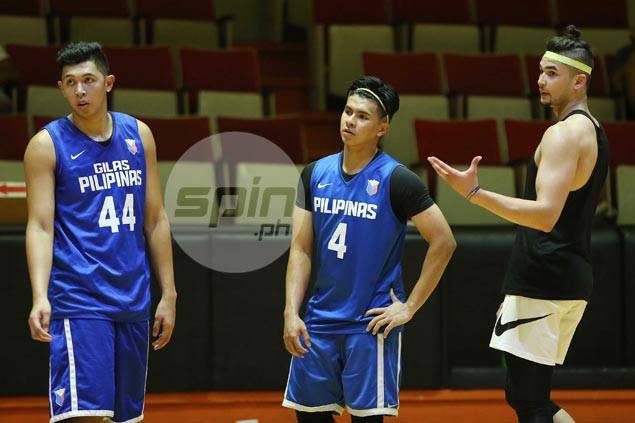 Gilas pals Ravena, Parks see 'bright future' for Kobe Paras in pro ranks