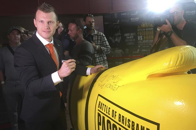 Jeff Horn unperturbed as Freddie Roach predicts knockout win by Manny Pacquiao