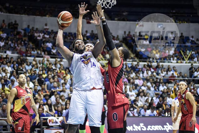 TNT rides inspired soon-to-be dad Joshua Smith to frustrate SMB, tie PBA Finals at 2-2