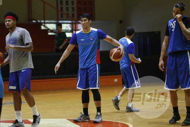 Mac Belo starts comeback from three-month injury layoff with non-contact drills in Gilas practice