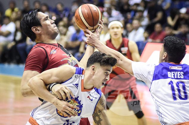 June Mar Fajardo shrugs off frustration after fouling out in guarding inspired Joshua Smith