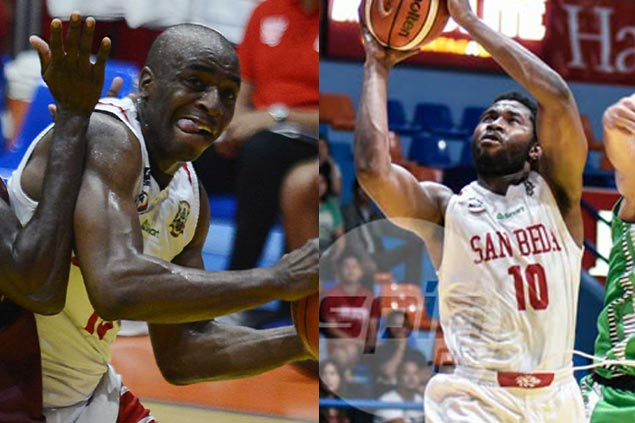 San Beda sticks with Donald Tankoua, Arnaud Noah as foreign players for NCAA Season 93