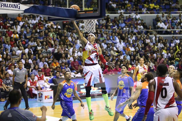 San Miguel defuses TNT to move on verge of ending Commissioner's Cup title drought