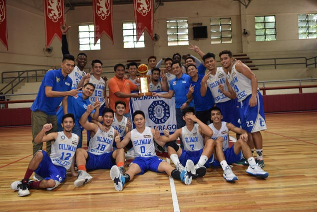 Diliman Blue Dragons beat CEU Scorpions to win Fr. Martin Cup title