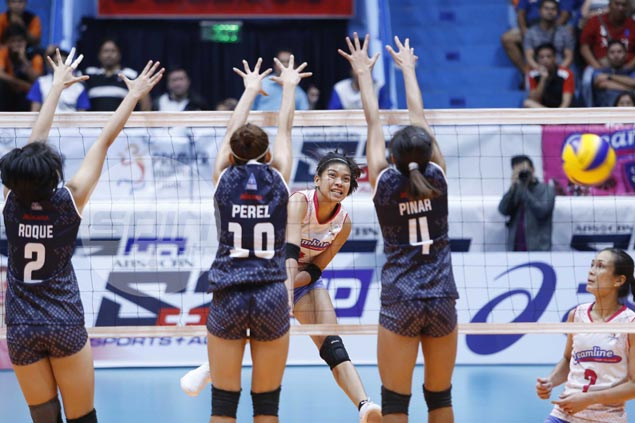 Alyssa Valdez shows way as Creamline opens PVL campaign with four-set win over Adamson