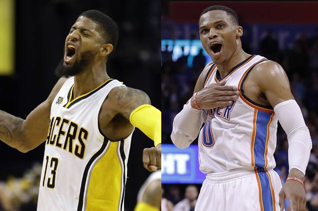 Paul George joins MVP Westbrook as Pacers, Thunder reportedly agree to shocking trade