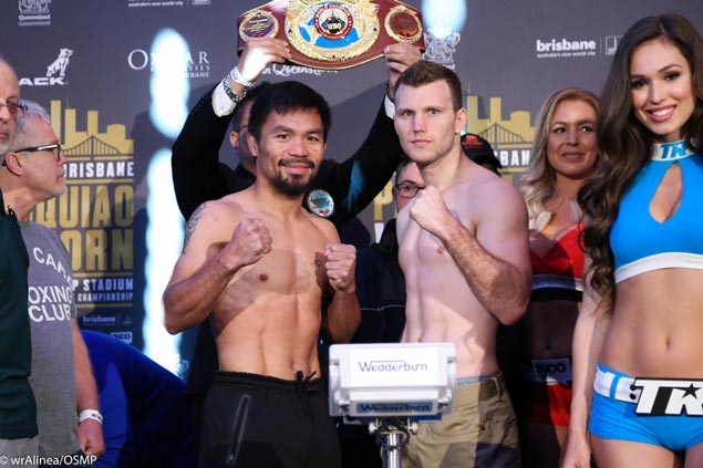 'Blown up' Jeff Horn will be there for the taking for Manny Pacquiao, says Roach