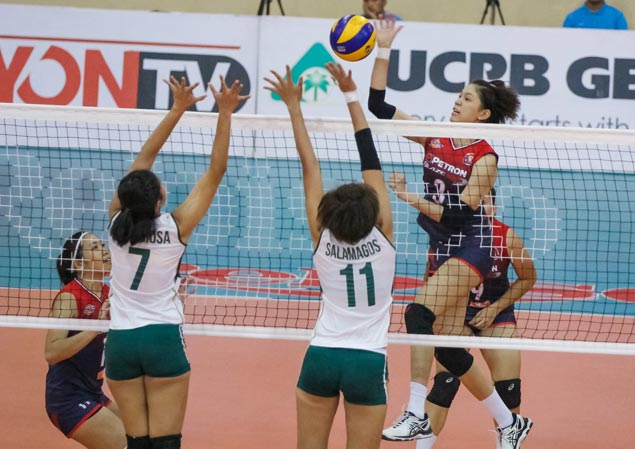In-form Petron secures place in PSL semis with straight-set win over Sta. Lucia