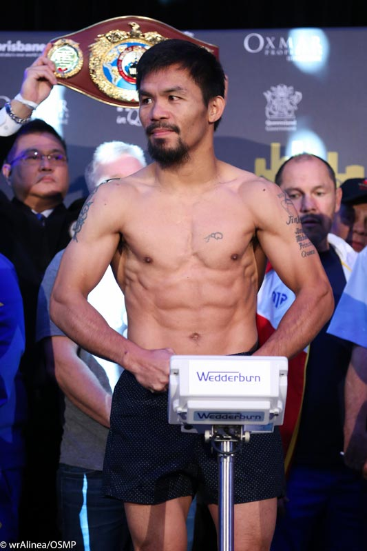 Roach expects Pacquiao to go out with all guns blazing in 'Sunday, bloody Sunday'
