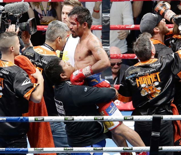 Numbers don't lie: Stats reveal wide Pacquiao edge over Horn in punches landed
