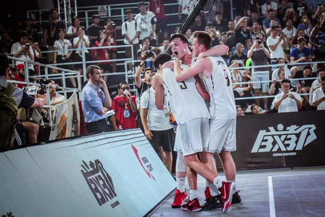 Belgium wins as Philippines winds up seventh and China ninth in Fiba 3x3 U18 World Cup