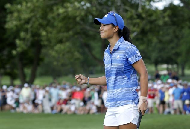 Danielle Kang edges Brooke Henderson to rule Women's PGA Championship