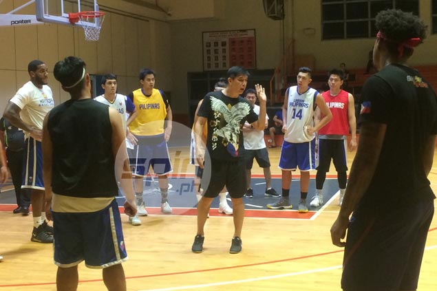Jeron Teng heads straight to Gilas Pilipinas practice from PBA D-League game