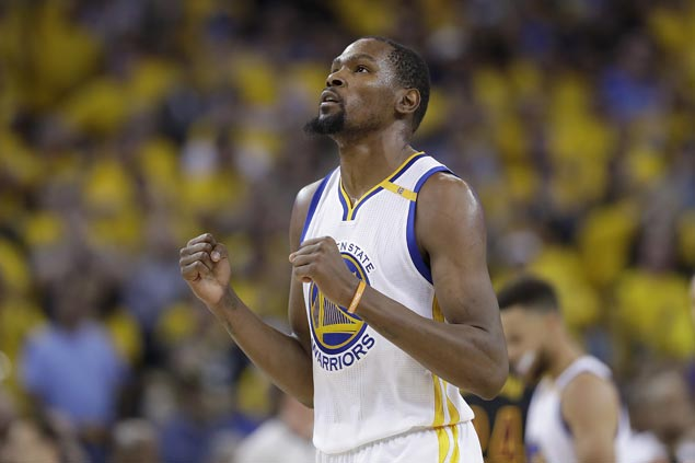 Kevin Durant gladly takes pay cut after Warriors secure other keys to title retention bid