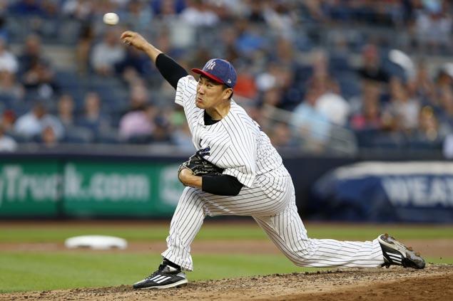 Masahiro Tanaka back in top form as Japanese ace lifts Yankees over slumping Blue Jays