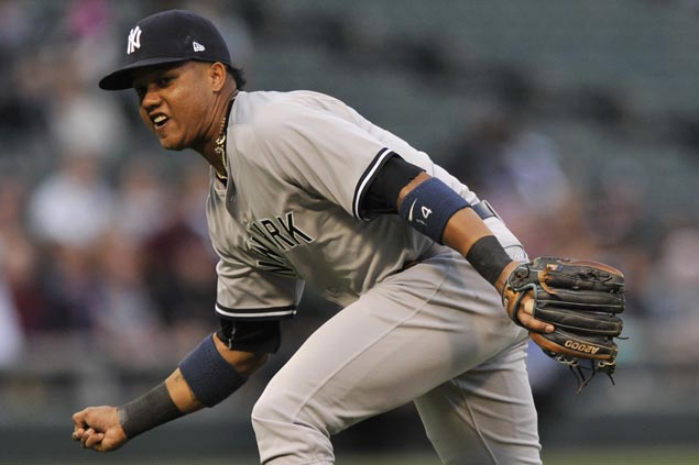 Yankees' Starlin Castro could miss All-Star Game due to hamstring strain