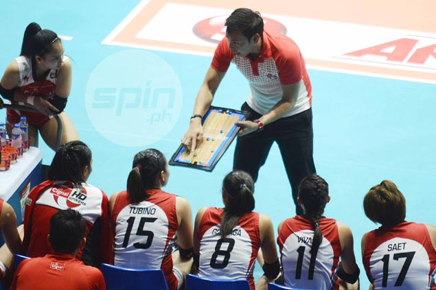 George Pascua a picture of disappointment after Cignal bows out with nary a fight