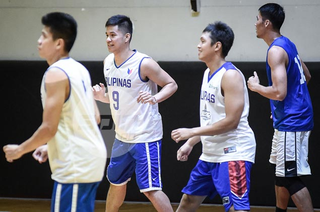 Gilas Pilipinas cast complete as TNT rookie Roger Pogoy reports for practice