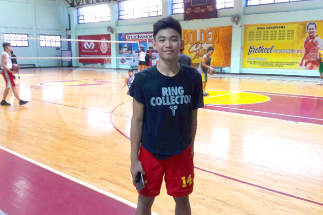 SSC Staglets wonder boy Kean Baclaan, 14, out to prove he belongs in NCAA juniors