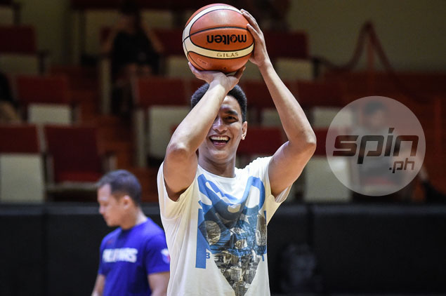 Russel Escoto targets October return to practice as he continues rehab from ACL injury