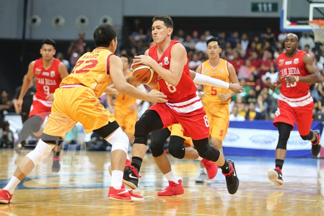 Red Lions rally in fourth to ward off pesky Stags in NCAA Season 93 opener