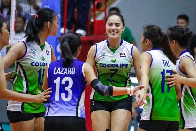 Cocolife turns back Sta. Lucia to salvage fifth place in Super Liga All Filipino