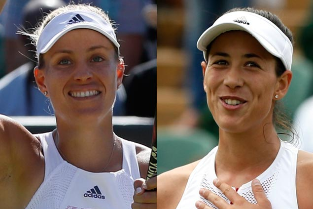 Early meeting for slam champs as Angelique Kerber, Garbine Muguruza face off in fourth round