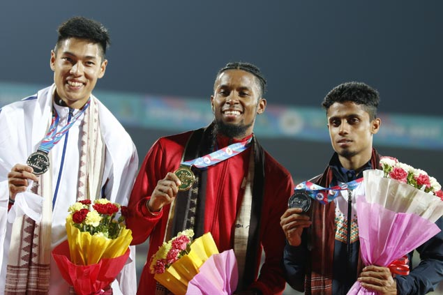 Fil-Am Eric Cray bags 400m hurdles gold in Asian Athletics Championships
