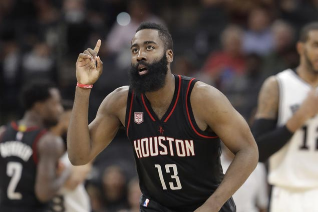 Supermax extension brings James Harden contract to an NBA record $228 million