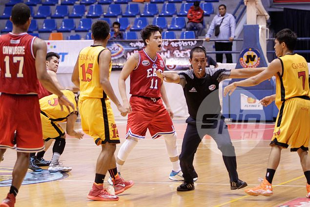 Leo Gabo homecoming at Mapua will have to wait as he serves out 2014 suspension