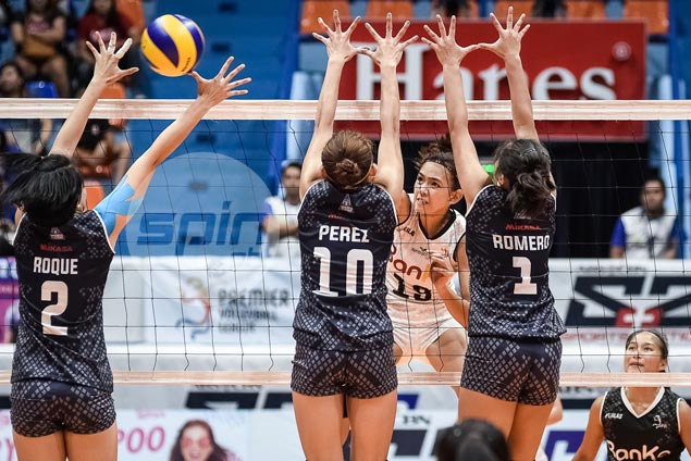 Nicole Tiamzon hoping Banko-Perlas can gain momentum after maiden PVL win over Lady Falcons