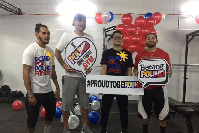 Longtime teammates Fajardo, Heruela turn business partners with launch of Cebu gym