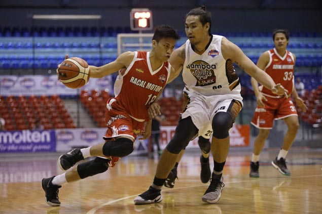 Racal shuts down Gamboa Coffee to halt three-game slide in PBA D-League Foundation Cup