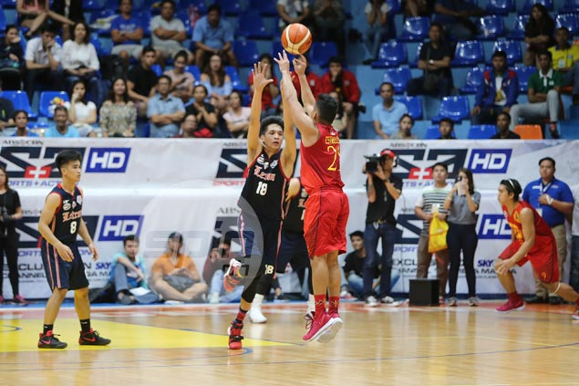 Andoy Estrella triple in dying moments powers Cardinals past Knights for first win in NCAA 93