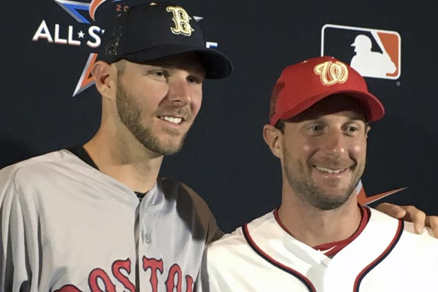 Chris Sale starting for AL as NL hands ball to Max Scherzer for All-Star Game