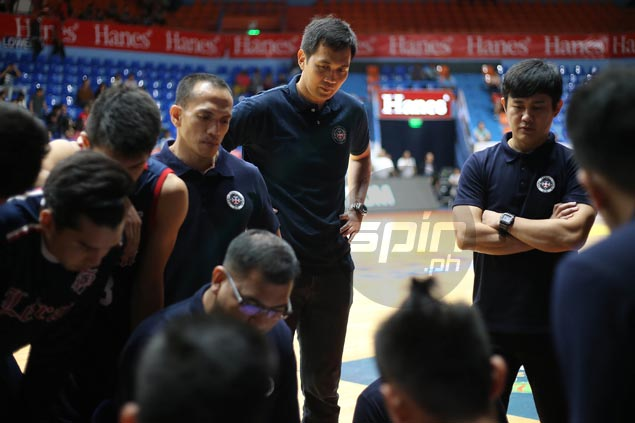 New Letran consultant Kerby Raymundo confident Knights can bounce back from opening loss