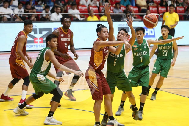 Jersey blunder proves costly as Perpetual win over Benilde forfeited by NCAA