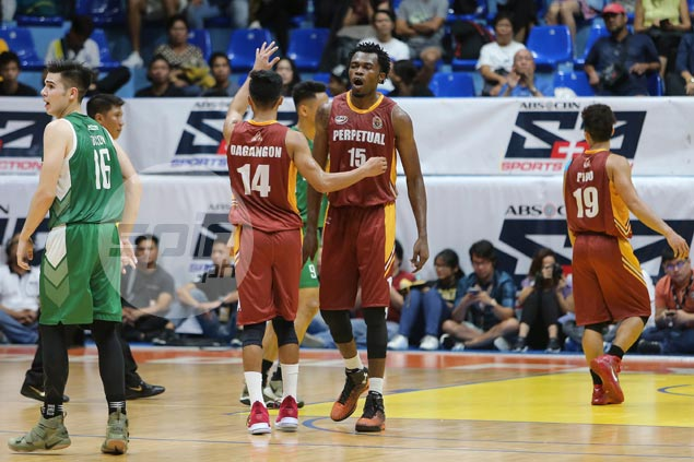 Prince Eze lifts Perpetual past CSB but Blazers put game under protest for Altas jersey blunder