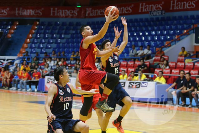Mapua Red Robins rout Letran Squires to take early lead in NCAA juniors basketball