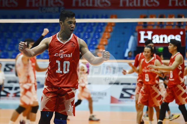 Cignal beats Army in straight sets for third win in as many matches in PVL