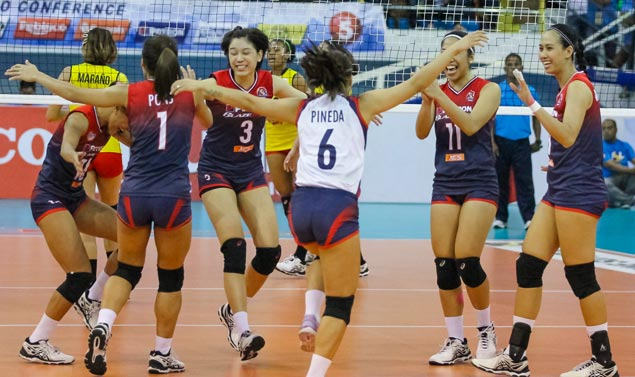 Petron not easing up on gas as Blaze Spikers look to close out PSL title series against F2