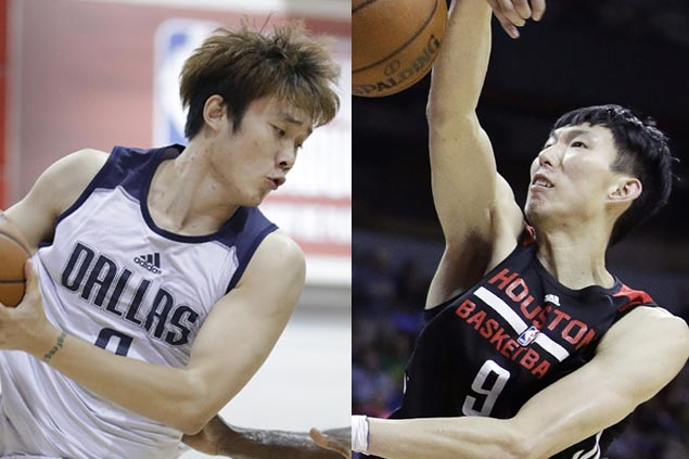 Chinese stars Zhou Qi, Ding Yanyuhang proving skeptics wrong with strong summer league play