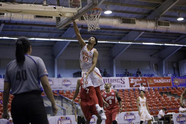 Tanduay eases to victory over Batangas to tighten grip on third spot